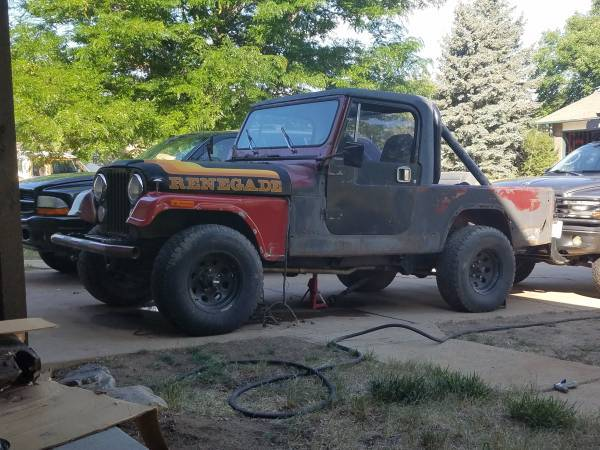 1984 Jeep Scrambler CJ8 4.0L AW4 Auto For Sale in Lakewood, CO