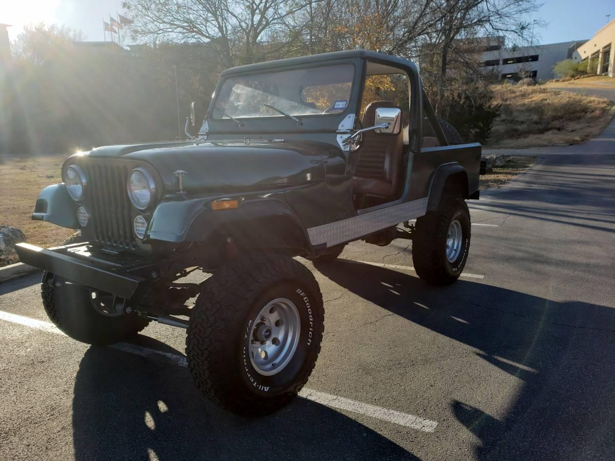 1981 Jeep Scrambler CJ8 For Sale in Georgetown, TX ...