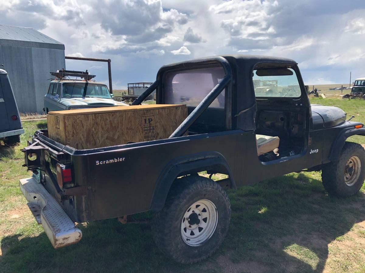 1983 Jeep Scrambler CJ8 Project For Sale in Cheyenne, WY ...