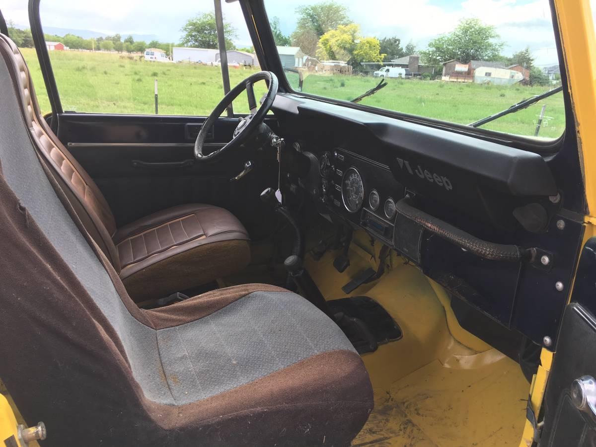 1981 Jeep Scrambler CJ8 6cyl Manual For Sale in Pueblo, CO ...