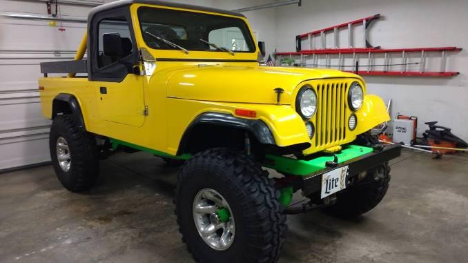 1983 Jeep Scrambler CJ8 8cyl Auto For Sale in Cedar Rapids ...