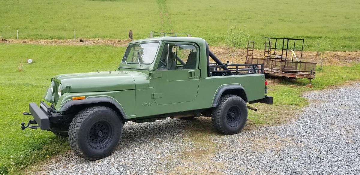 1982 Jeep Scrambler CJ8 Full Restoration For Sale in ...