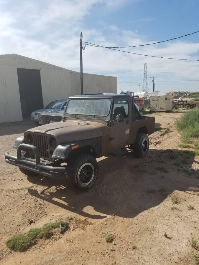 1982 Jeep Scrambler CJ8 V4 Man For Sale Midland, TX ...