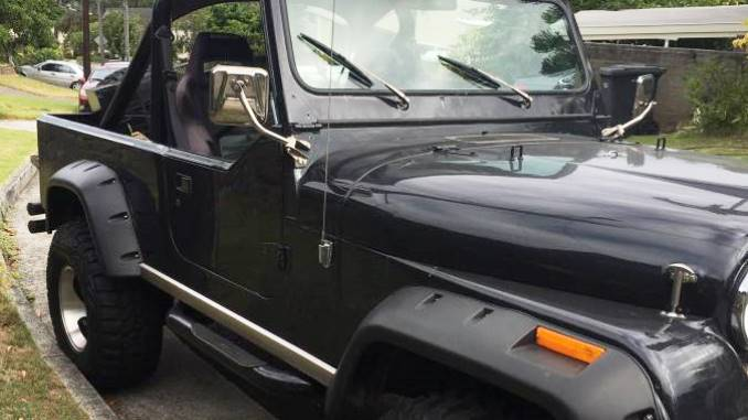 1982 Jeep Scrambler CJ8 Black V8 Auto For Sale Oahu, HI ...