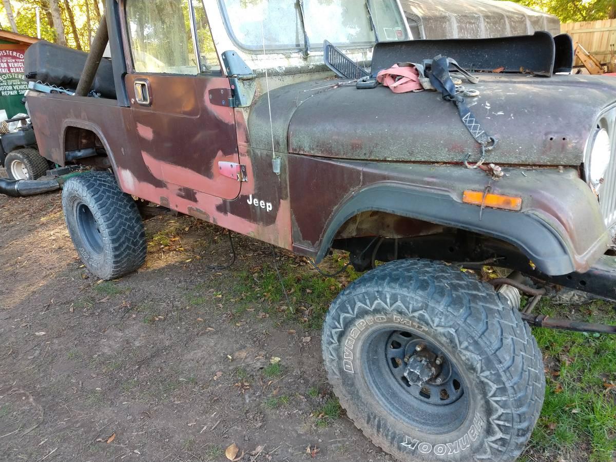 1984 Jeep Scrambler CJ8 Project For Sale in Greece, NY ...