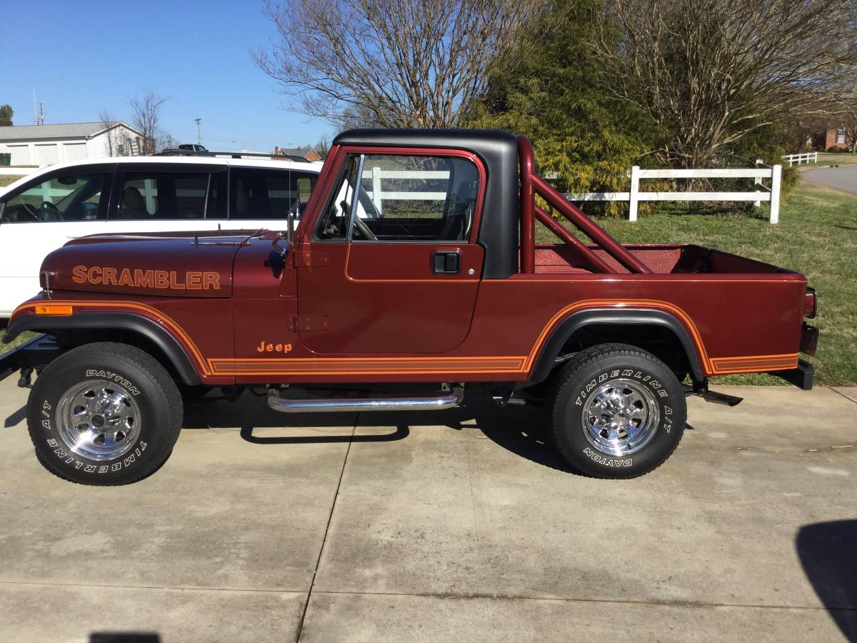 1984 Jeep Scrambler 6cyl Manual For Sale in Newton, NC ...