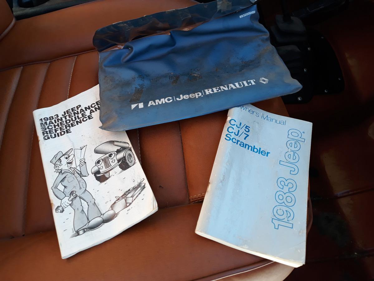 1983 Jeep Scrambler CJ8 258 4spd For Sale in Rogers ...