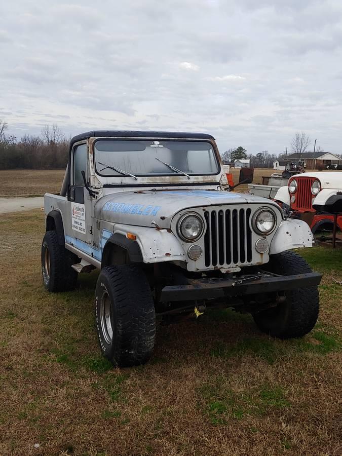 1984 Jeep Scrambler CJ8 Project For Sale in Snow Hill, NC ...