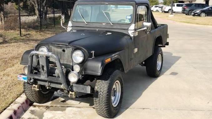 1981 Jeep Scrambler CJ8 4cyl Manual For Sale in Dallas, TX ...