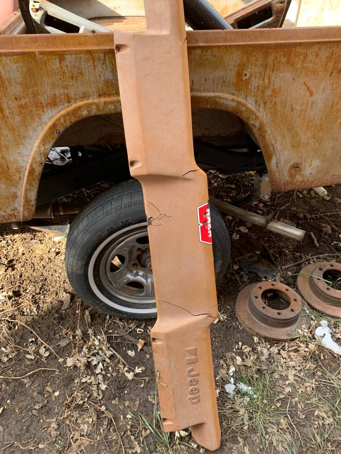 1983 Jeep Scrambler CJ8 Project For Sale in Denver, CO ...
