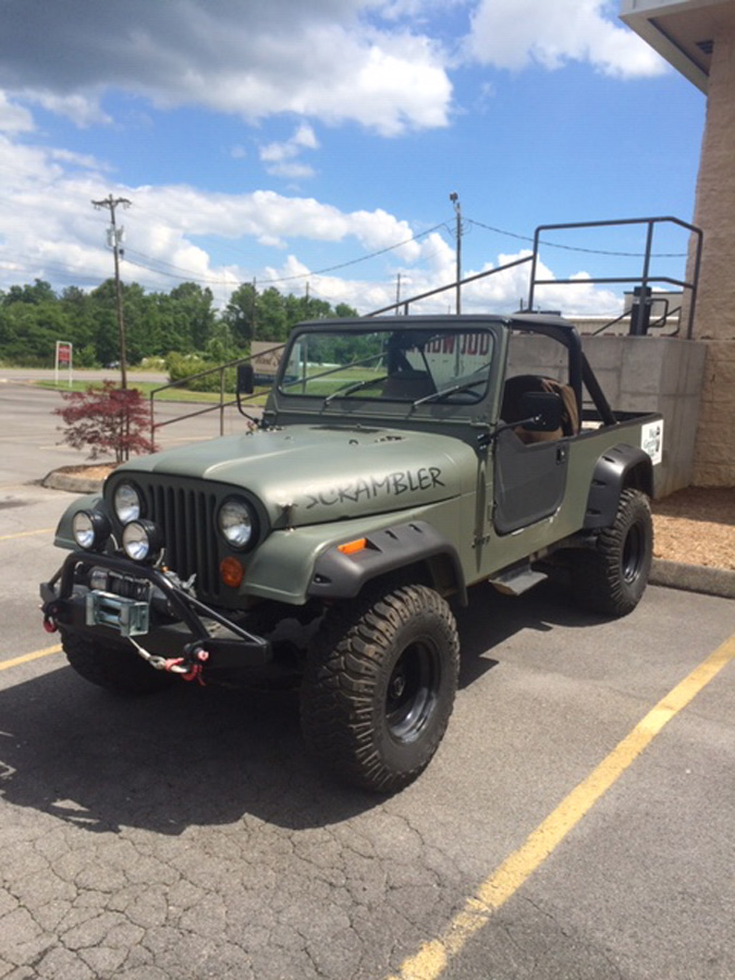 1982 Jeep Scrambler Army Green Custom Build For Sale in ...