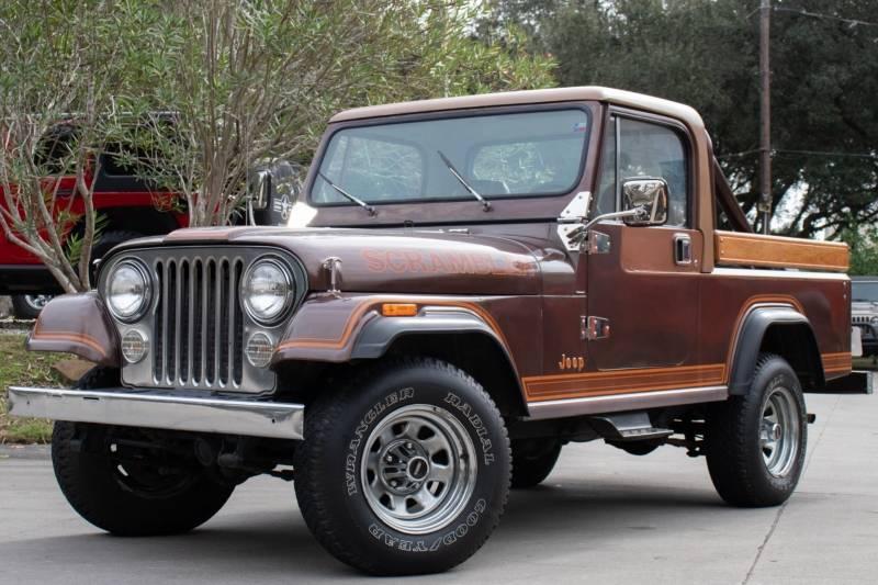 1981 Jeep Scrambler 4.2L Auto For Sale in League City, TX ...