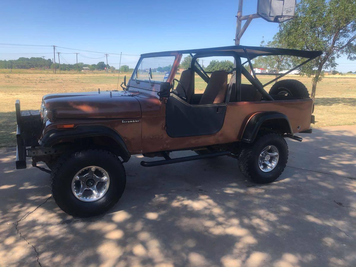 1983 Jeep Scrambler CJ8 Manual For Sale in Levelland, TX ...