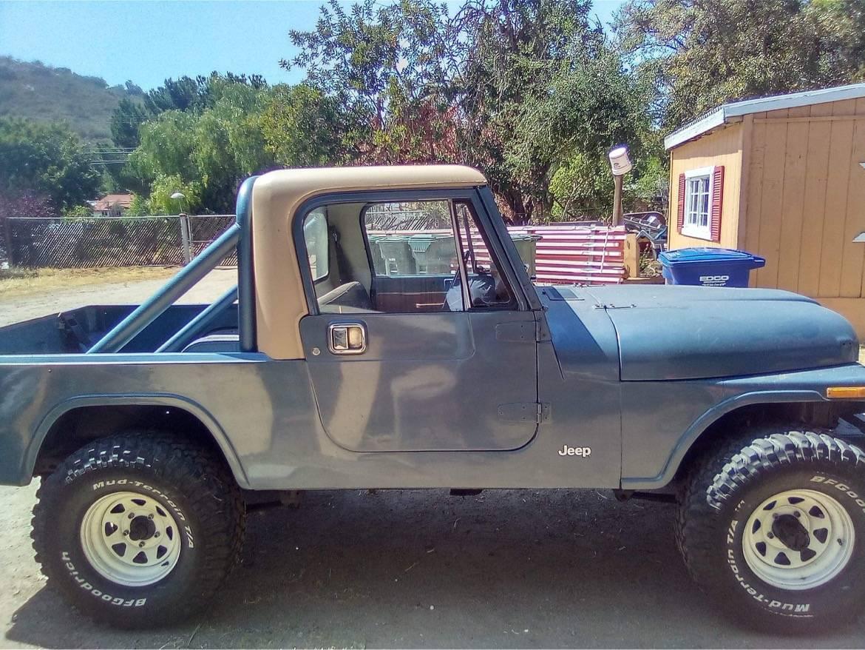 1984 Jeep Scrambler CJ8 6cyl Manual For Sale in San Diego ...